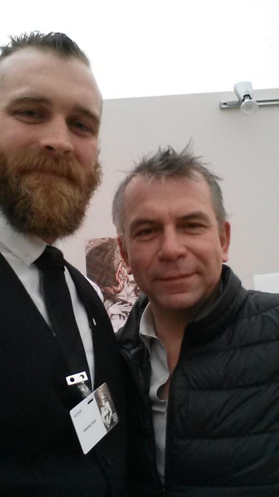 Avec Philippe Torreton