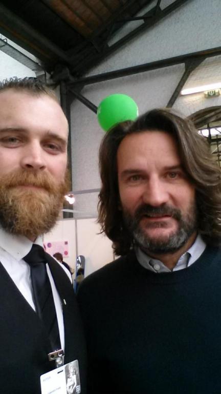 Avec Frédéric Beigbeder